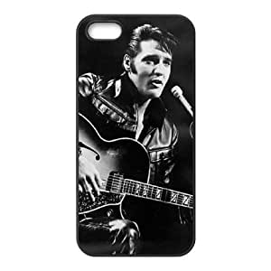 wugdiy Brand New Phone Case for iPhone 5,5S with diy Elvis Presley