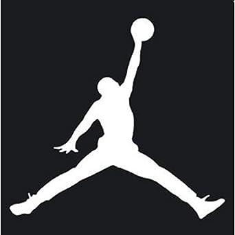 JORDAN ジョーダン バスケットボール ロゴ マーク ステッカー シール デカール ホワイト