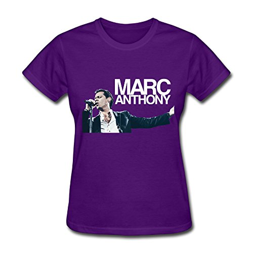 - Hot Latin Marc Anthony Live Show 2016 T Shirt For Women