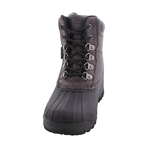Fila Kid's Weathertech Extreme Hiking Boots, Brown Leather, 1 Little Kid M (Fila Weather Tech)