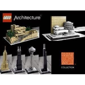 Lego Architecture Set of 8 Kits: Rockefeller Center, The White House, Falling...