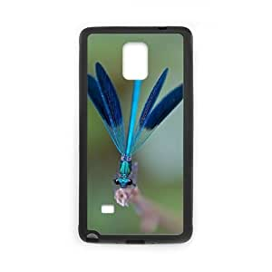 Clzpg Customized Samsung Galaxy Note4 Case - Dragonfly shell phone case