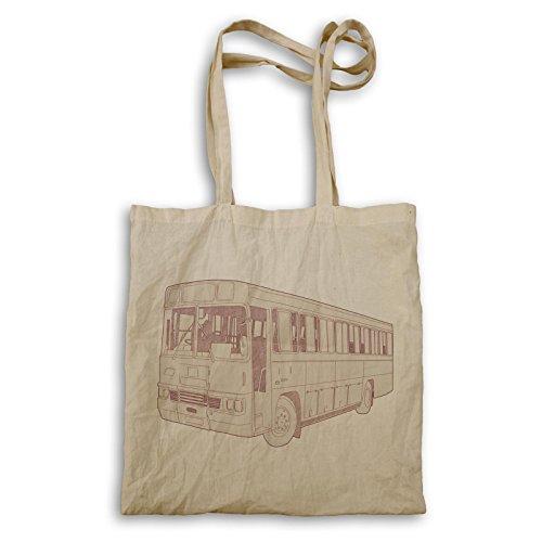 Weinlese-Bus-Geschenk-lustige Kunst Retro Tragetasche d789r