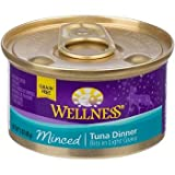Wellness Minced Canned Cuts Tuna Adult Canned Cat Food, My Pet Supplies