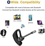 Bluetooth Headset, HD Stereo Bluetooth Earbuds with