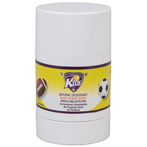Boys Natural - Kids Natural Deodorant for Boys - Citrus Sport - by Junior Varsity Naturals