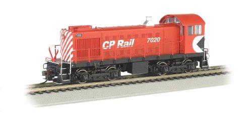 Alco Diesel Locomotives - Bachmann Industries CP Rail 7020 ALCO S2 Diesel Locomotive Car