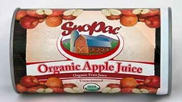 Amazon com : Organic Frozen Apple Juice Concentrate, 12 oz