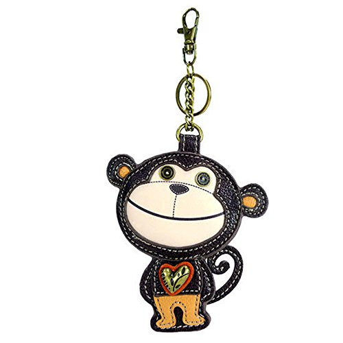 Chala - Coin Purse/Key Fob - Monkey