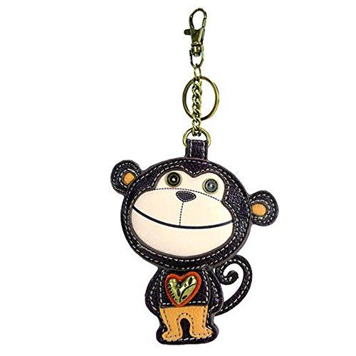 - Chala - Coin Purse/Key Fob - Monkey