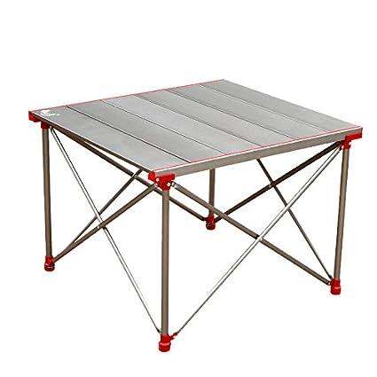 Cqq Mesa de pared Mesa plegable portátil simple y moderna mesa de barbacoa de picnic al
