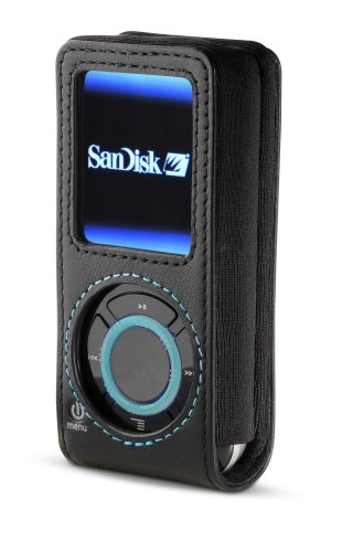 Belkin F8M048-BLK Holster Case For Sansa e200 Series MP3 Players
