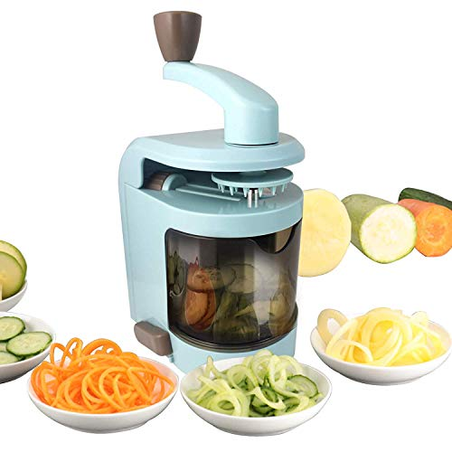 RL8 Multi Functional Slicer Vegetable Spaghet Zucchini Noodles Maker is Very Suitable for Apples, Carrots, Potatoes…