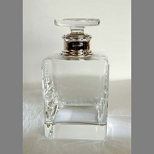 Sterling Silver Mounted Square Whisky Decanter ()