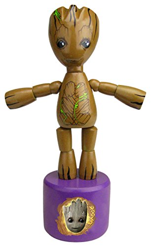 Entertainment Earth Guardians of The Galaxy Vol. 2 Groot Wood Push Puppet