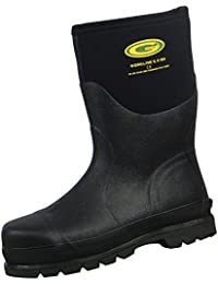 Steel Toe Rubber Boots | Perfect For Muck, Snow, Rain | Waterproof & Breathable