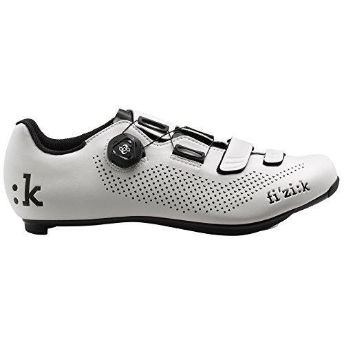 Fizik R4B Rennradschuhe Herren weiß/schwarz Größe 42 2018 Spinning-Schuhe MTB-Shhuhe
