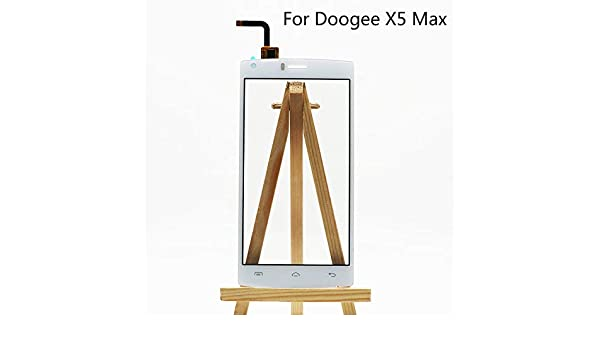 AiBaoQi For Doogee X5 MAX Front Touch Screen Digitizer Glass Original Replacement Parts For DOOGEE X5 MAX/X5 MAX Pro Phone: Amazon.es: Electrónica