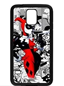 Custom Joker and Harley Quinn Phone Case Cover Laser Technology for Samsung Galaxy S5