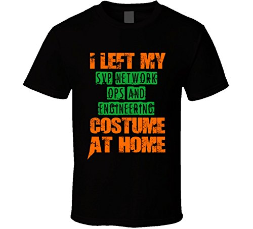 [Left SVP Network Ops and Engineering Halloween Costume At Home Occupation T Shirt 2XL Black] (Black Ops 2 Halloween Costumes)