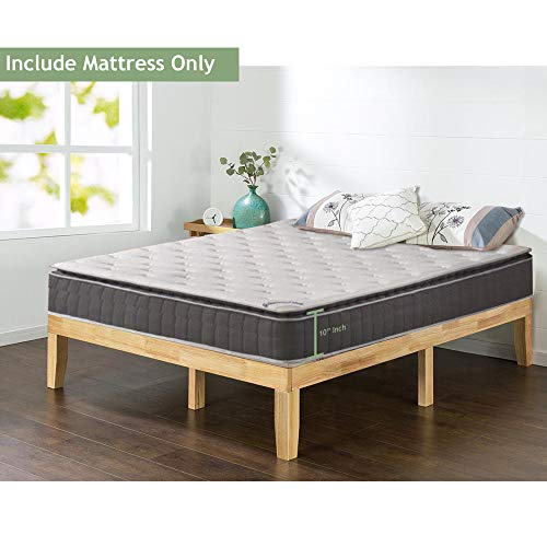 Spinal Solution Mattress, White/Grey, Full