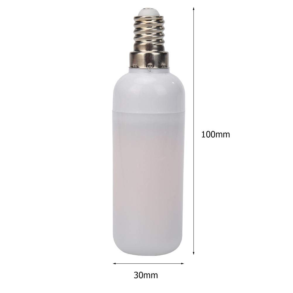 Slibrat E14 7W LED Flame Effect Fire Light Bulb Flickering Emulation Decor Lamp