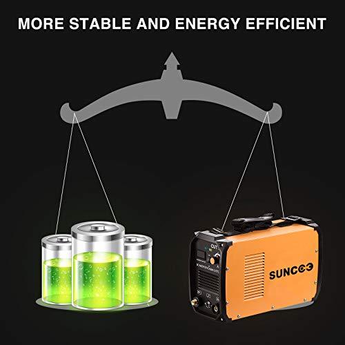 SUNCOO Cut 50 Plasma Cutter Electric DC Inverter Cutting Machine with Digital Display Dual Voltage 110/220V, 1/2'' Clean Cut by SUNCOO (Image #7)