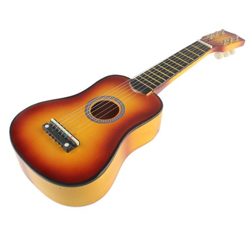 ttnight Small 21-Inch Guitar, 6 String Acoustic Guitar with Pick Beginners Musical Instrument (02)