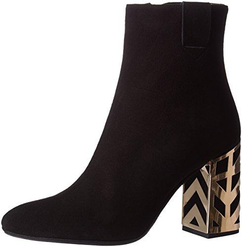Ankle Mercadal Women's Nero Black Boots Eva Nero Camoscio Camoscio Atelier BtSxvS