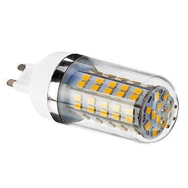 Bombillas de maíz 80 SMD 2835 G9 6 W 450 - 490 LM 3000 K Blanco Cálido AC 85 - 265 V: Amazon.es: Iluminación