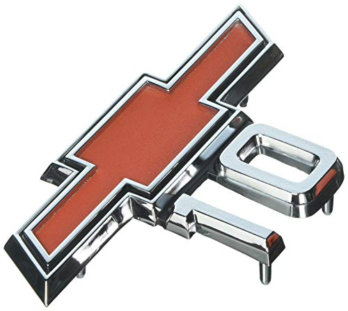 "Trim Parts 9525 Truck Front Fender Emblem (1967-1968 Chevy ""10"" GMC)"