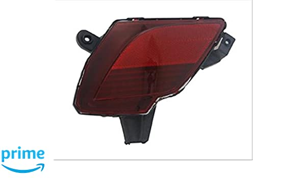 Multiple Manufacturers OE Replacement Bumper Cover Reflector Mazda CX5 2013-2016 Partslink MA2830101 MA2830101C