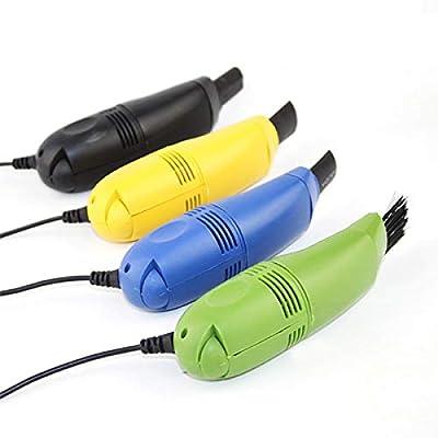 Mini computadora USB Aspirador Limpiador de Teclado PC Impresora Portátil Cepillo Kit de Limpieza de Polvo: Amazon.es: Electrónica