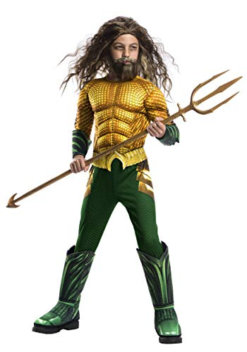 Rubie's Boys Aquaman Movie Child's Deluxe Costume, Large]()