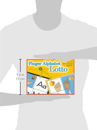 Finger Alphabet Lotto, Sign Language (GP161)