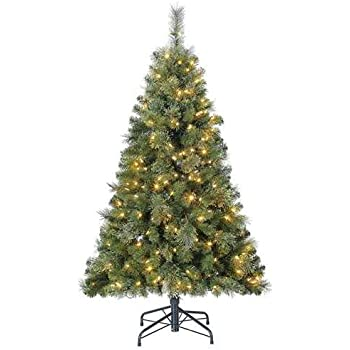 Home Heritage 5' Artificial Cascade Cashmere Christmas Tree w/Changing  Lights - Amazon.com: Cashmere Pine Christmas Tree Jaclyn Smith 7' Pre-Lit
