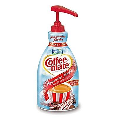 Nestle Coffee-mate Liquid Pump Bottle - Peppermint Mocha - 1.5 L from MegaDeal