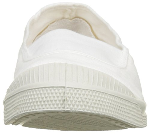 Donna Elastique Tennis Bensimon da Blanc Ginnastica Basse Scarpe Bianco 5Ywxafw