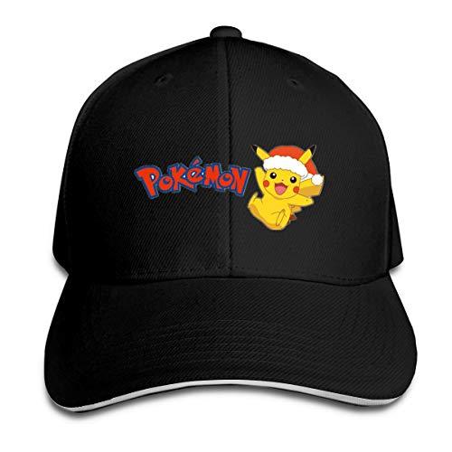 Sakanpo Yellow Pikachu Cap Unisex Low Profile Cotton Hat Baseball Caps Black]()