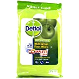 Dettol Multi-Action Floor Wipes (15 Extra Large Wipes) Anti-Bacterial