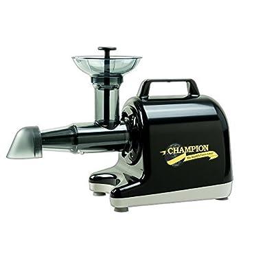 Champion Household Juicer 4000 Masticating Juicer (Black)
