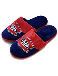 The Montreal Canadiens Colorblock Slide Slipper Large