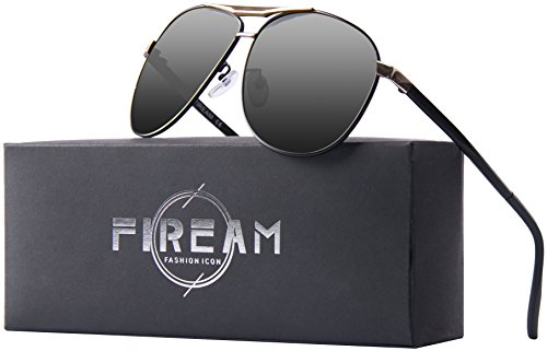 Mens Womens Hot Classic Aviator Polarized Sunglasses for Driving Fishing.