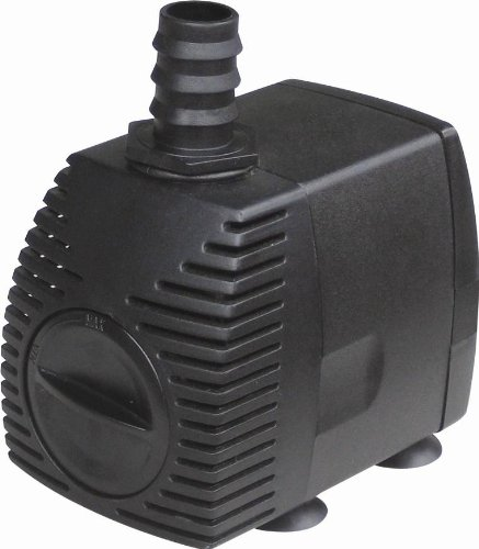 Sp 5000 1326gph water pump for koi goldfish pond waterfall for Goldfish pond pump