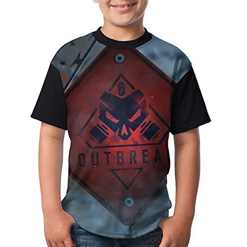 OPERATIONS CHIMERA OUTBREAK Children Boy Girl Short Sleeve Round Neck Funny Tank T-Shirt 32 for $<!--$19.98-->