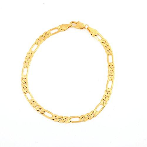 8 Mm Figaro Bracelet - 4