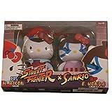Toynami Hello Kitty M Bison vs E Honda PVC Set