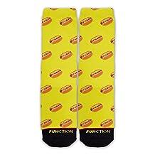 Function - Hot Dog Pattern Socks