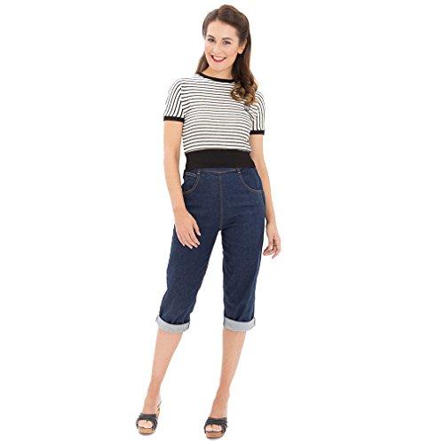 Queen Donna Queen Kerosin Jeans Blu Donna Jeans Kerosin qnC7EBBv