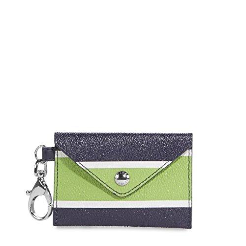 Vera Bradley Envelope Keychain Lucky Stripe (Vera Bradley Key Chain Wallet)
